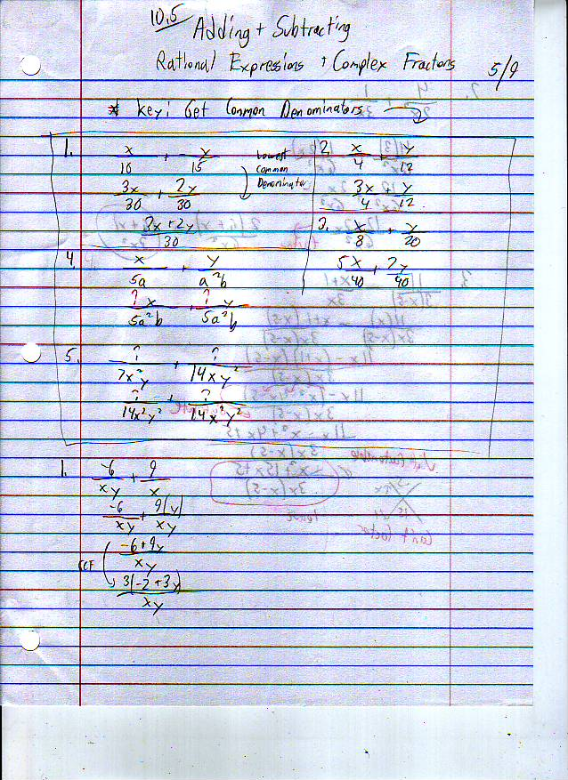 File:10.5 Adding and Subtracting Rational Expressions and Complex Fractions Page 1.JPG