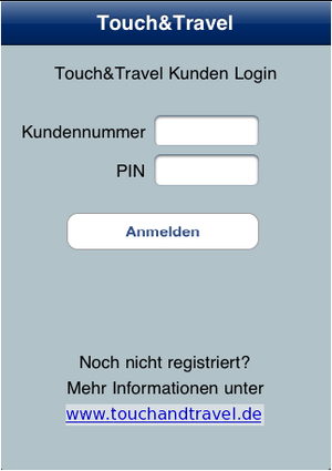 Touch&Travel Login.png